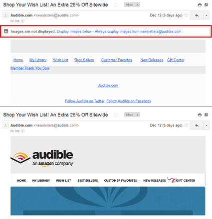 New Gmail Image Policy Effects Email Marketing Efforts