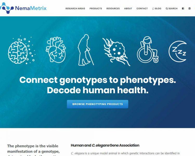 NemaMetrix.com screenshot