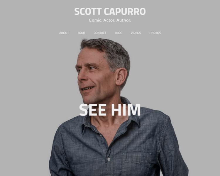 scottcapurro.com, built by AUMW