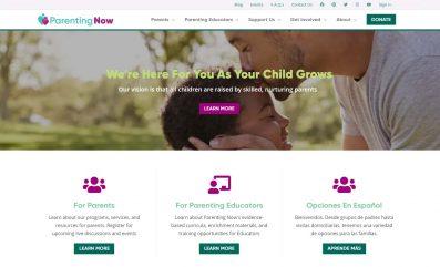 Parenting Now website